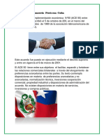 Tratado Libre Comercio Perú CON CUBA