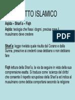 32614 Diritto Islamico