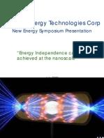 Vibronic Energy Technologies