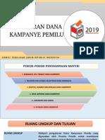 Pkpu 28 Thn 2018 Perubahan Kampanye Pemilu
