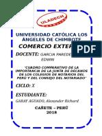 IMPORTANCIA DE LA JUNTA DE DECANOS DEL COLEGIO DE NOTARIOS DEL PERÚ-CONSEJO DEL NOTARIADO.docx