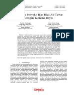 Diagnosa Penyakit Ikan Hias Air Tawar Dengan Teorema Bayes