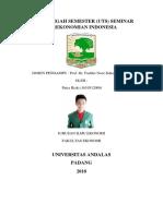 Uts Seminar Perekonomian Indonesia