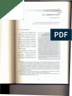 Técnicas de observación para la investigación en Ciencias Sociales