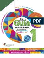 Guia Santillana Alumno 1