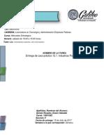 Entrega de Caso Práctico 12.1. Industrias Porteño,S.a.