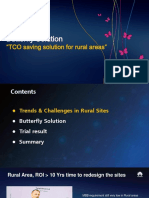 Butterfly Solution for Rural Coverage