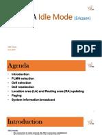 Wcdma Idle Mode (Ericsson)