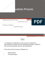 Taxation Process - Lecture