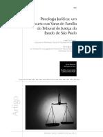5-6 B-Psicologia jurídica um percurso nas Varas de Família do Tribunal de Justiça do estado de São Paulo no Brasil.pdf