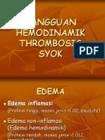Trombosis, Edema (3)