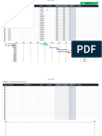 IC Project Timeline Excel Template