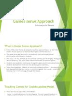 games sense approach