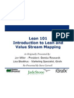 Lean - Value Stream Mapping Slides