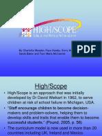 168286922 High Scope Presentation