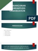 Bab 12 Pembangunan Boundaryless Organization