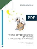 Tsem6 TEORÍAS CONTEMPORÁNEAS DE LA EDUCACIÓN