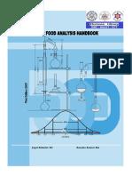 Basic Food Analysis Handbook KC PDF
