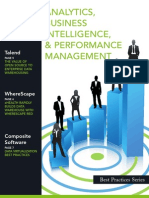Best Practices in Analytics, Business Intelligence and Performance Management[1]