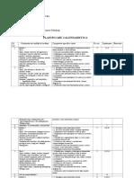 Plan. Calendaristica Upstream Pre-intermediate
