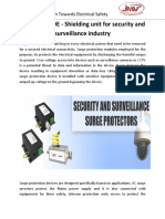 RJ 45 with POE - Shielding unit for security and surveillance industry