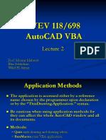 1.f. AutoCAD VBA Lecture 2.ppt