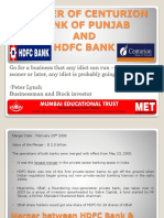 MERGER OF CENTURION BANK OF PUNJAB & HDFC.pptx