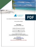 Job Maldives 101318