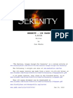 Serenity 190pages