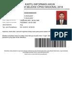 Kartu Informasi