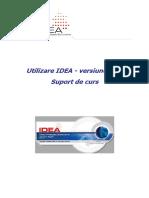 Utilizare IDEA v8.5