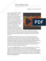 El Debut Discográfico de Martín Iaies