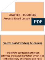 Chapter - 14 Process Based Lesson Planning