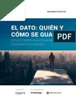 Almacenamiento Corporativo Espana