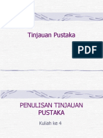 penulisan tinjauanpustaka.ppt