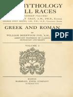 Mythology of All Races Greek and Roman (1)
