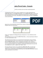 Informatica PowerCenter - Flat Files Sc