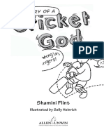 Diary of a Cricket God - Shamini Flint