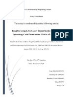 ACF5150 - Tangible Long-Lived Asset Impairments and Future Operating Cash Flows under US GAAP and IFRS