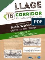 20181011 Village Corridor Enhancement Plan