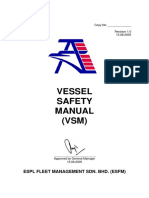Vessel Safety Manual