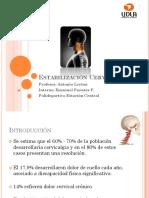 Estabilizacion Cervical