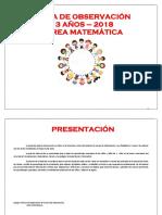Matematica 3 Años