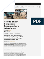 How to Shoot Gorgeous Documentary Interviews.pdf