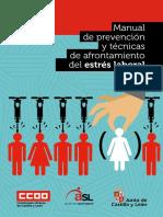 Guia Manual de Prevencion y Tecnicas de Afrontamiento Contra Del Estres Laboral