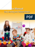 Operator Manual Early Learning Childcare Homes