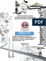 Ingenieria Del Transporte II - Sebastian Pedraza Ramirez Seccion9b Primera Clase Segunda Unidad