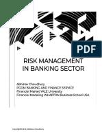 Risk Management of Banking System