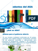 Antecedentes Del AGA