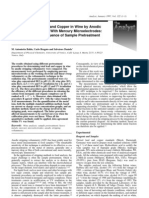 Determination of Lead and Copper in Wine by ASV-Sample Pretreatment Procedures